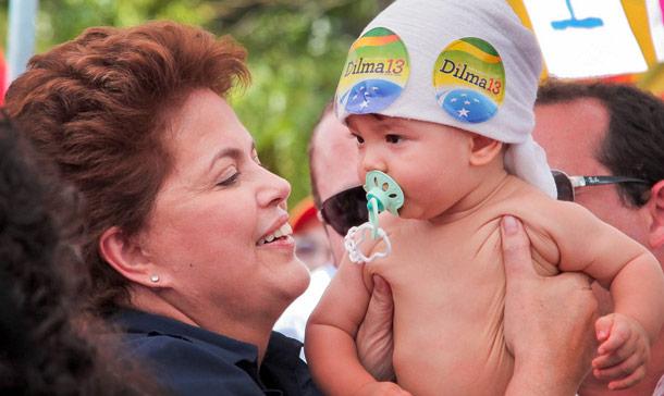 Este blog apoia Dilma Rousseff para presidente do Brasil